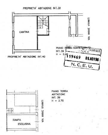 Villetta a schiera in vendita a Roma, Ottavia-lucchina, Con giardino, 140 mq - Foto 3