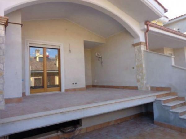 Villetta a schiera in vendita a Roma, Selva Candida, Con giardino, 170 mq