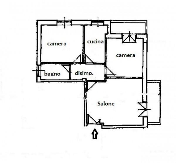 Appartamento in vendita a Roma, Ottavia-lucchina, 90 mq - Foto 2