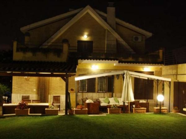 Villa in vendita a Roma, Belvedere Montello, Con giardino, 450 mq