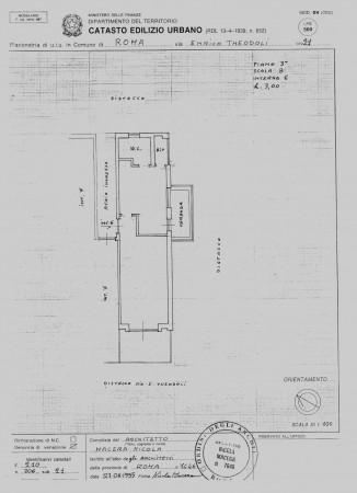 Appartamento in vendita a Roma, Cassia Tomba Di Nerone, 90 mq - Foto 3