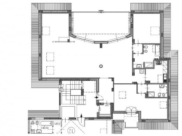 Appartamento in vendita a Arluno, Centrale, Arredato, 190 mq - Foto 2