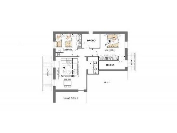 Appartamento in vendita a Busto Garolfo, Centrale, 98 mq - Foto 2