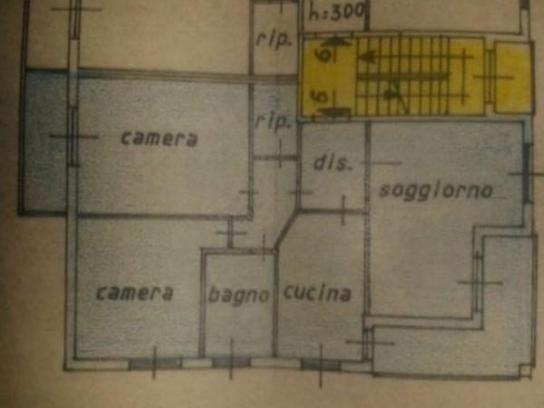 Appartamento in vendita a Pogliano Milanese, Bettolino, 105 mq - Foto 3
