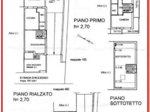Villetta a schiera in vendita a Legnano, Legnarello, 210 mq - Foto 2
