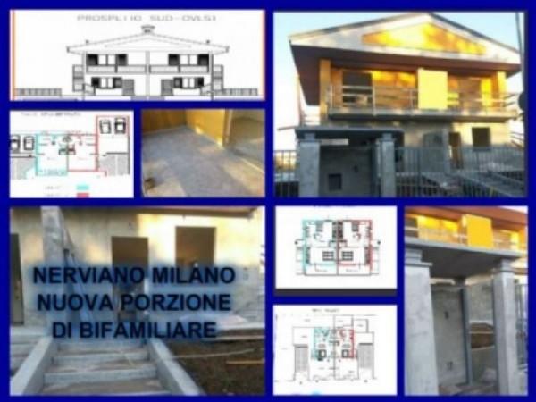 Villa in vendita a Nerviano, 150 mq