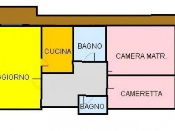 Appartamento in vendita a Vittuone, Stazione, 105 mq - Foto 2