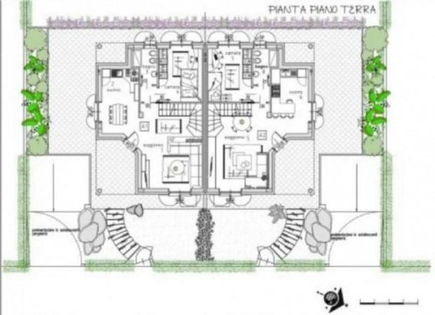 Villa in vendita a Vanzaghello, 330 mq - Foto 5