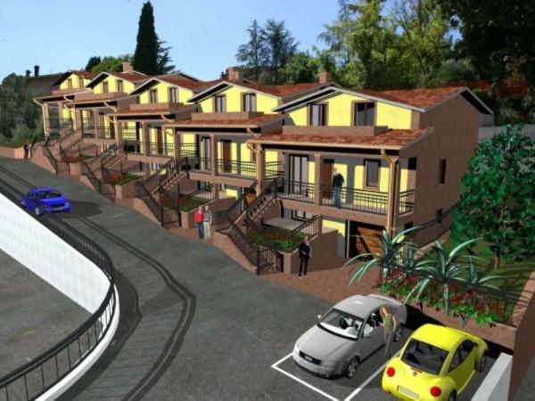 Villetta a schiera in vendita a Perugia, Villa Pitignano, Con giardino, 200 mq