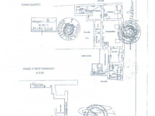Appartamento in vendita a Milano, Magenta, 155 mq - Foto 2