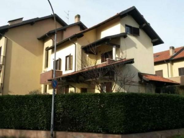Villa in vendita a Garbagnate Milanese, Con giardino, 185 mq - Foto 5