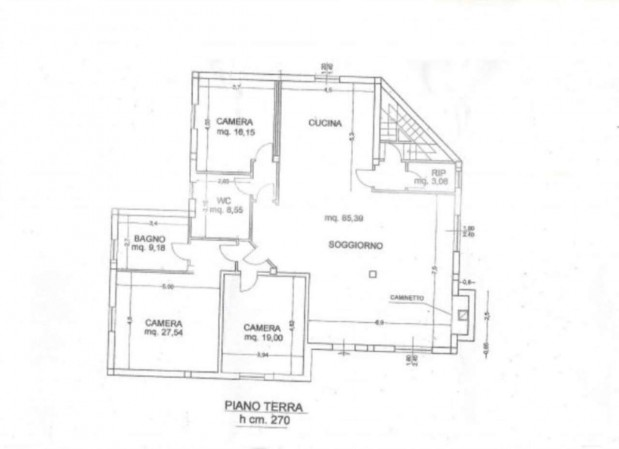 Villa in vendita a Città di Castello, Con giardino, 500 mq - Foto 3