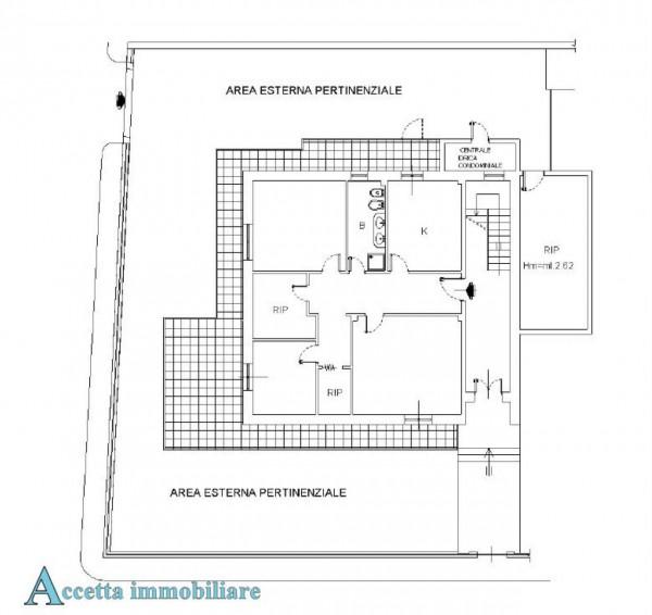 Appartamento in vendita a Taranto, Residenziale, Con giardino, 117 mq - Foto 2