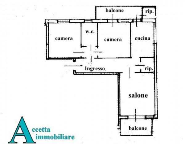 Appartamento in vendita a Carosino, Centrale, 95 mq - Foto 2