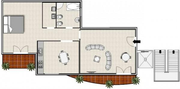 Appartamento in vendita a Monteiasi, Residenziale, 70 mq - Foto 7
