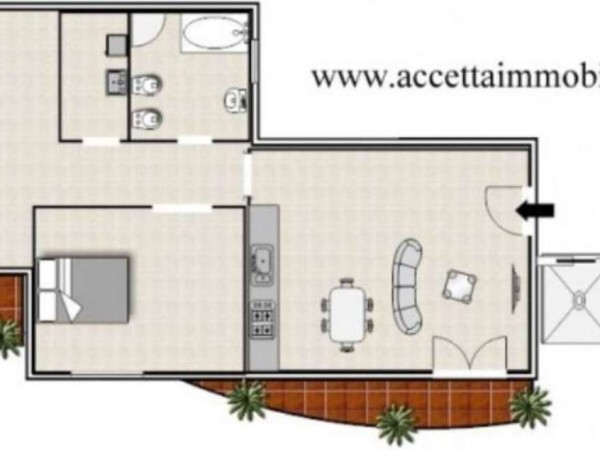 Appartamento in vendita a Monteiasi, Residenziale, 70 mq - Foto 9