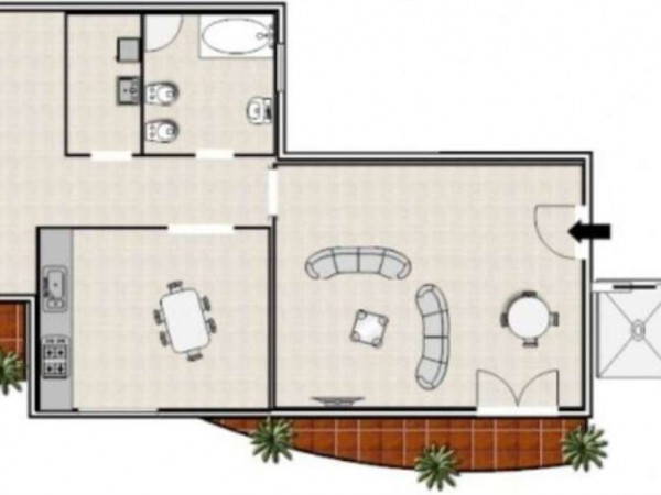 Appartamento in vendita a Monteiasi, Residenziale, 70 mq - Foto 8