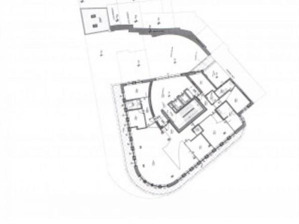 Appartamento in vendita a Milano, Cairoli, Con giardino, 240 mq - Foto 9