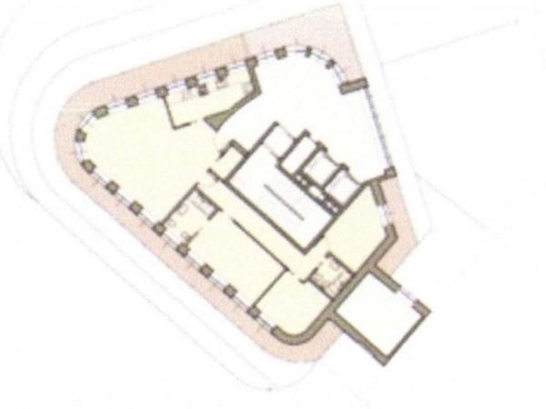 Appartamento in vendita a Milano, Cairoli, Con giardino, 240 mq - Foto 11