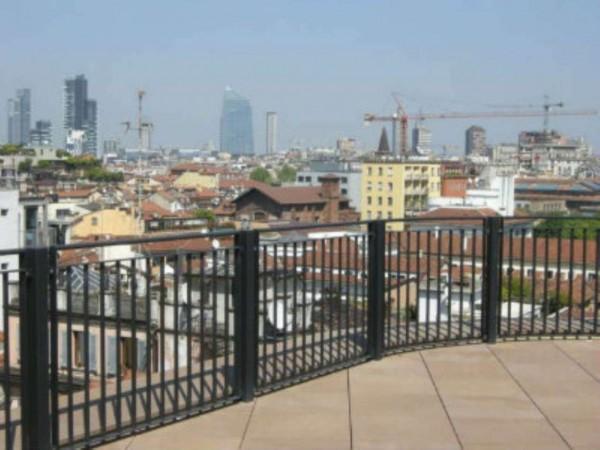 Appartamento in vendita a Milano, Cairoli, Con giardino, 240 mq - Foto 20