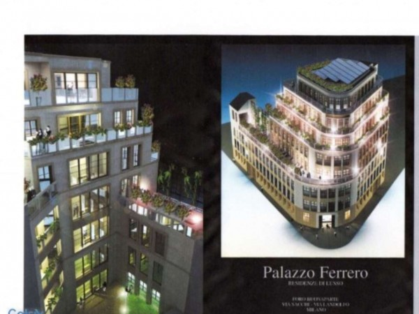 Appartamento in vendita a Milano, Cairoli, Con giardino, 241 mq - Foto 3