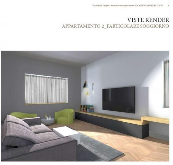 Appartamento in vendita a Roma, Camilluccia, Trionfale, Cortina D'ampezzo, 227 mq - Foto 15