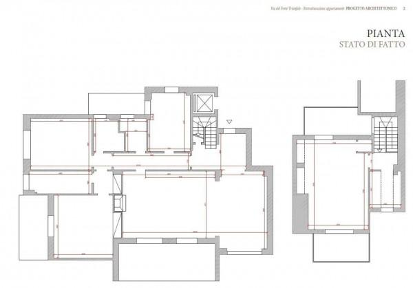 Appartamento in vendita a Roma, Camilluccia, Trionfale, Cortina D'ampezzo, 227 mq - Foto 6