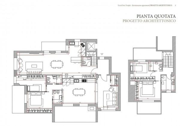 Appartamento in vendita a Roma, Camilluccia, Trionfale, Cortina D'ampezzo, 227 mq - Foto 5