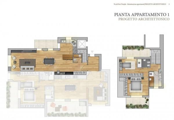 Appartamento in vendita a Roma, Camilluccia, Trionfale, Cortina D'ampezzo, 227 mq - Foto 3