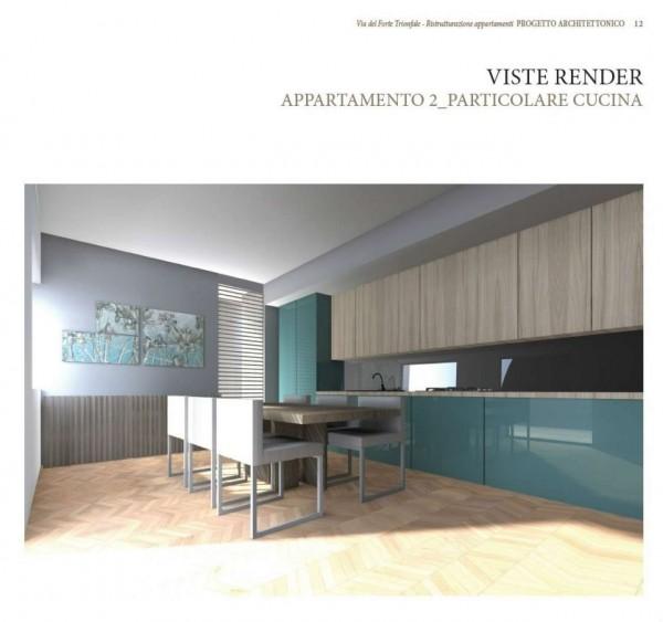 Appartamento in vendita a Roma, Camilluccia, Trionfale, Cortina D'ampezzo, 227 mq - Foto 12