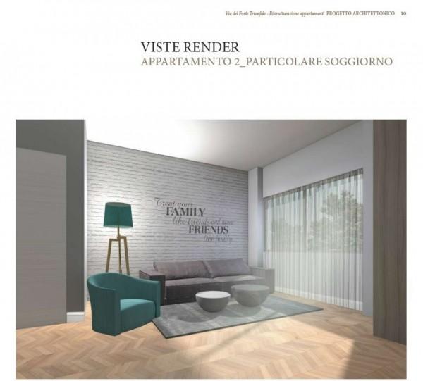 Appartamento in vendita a Roma, Camilluccia, Trionfale, Cortina D'ampezzo, 227 mq - Foto 14