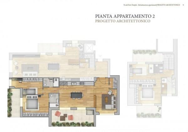 Appartamento in vendita a Roma, Camilluccia, Trionfale, Cortina D'ampezzo, 227 mq - Foto 2