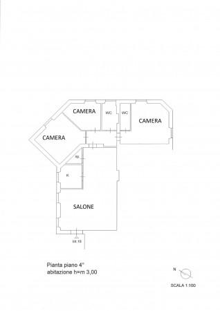 Appartamento in vendita a Roma, Trieste, 115 mq - Foto 3
