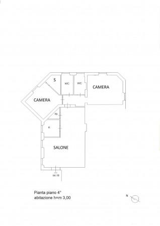 Appartamento in vendita a Roma, Trieste, 115 mq - Foto 4