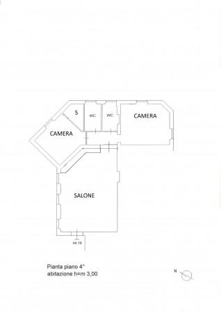 Appartamento in vendita a Roma, Trieste, 115 mq - Foto 2