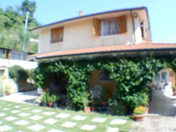 Casa indipendente in vendita a Mignanego, Passo Dei Giovi, Arredato, con giardino, 235 mq - Foto 14