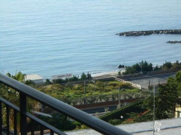 Appartamento in vendita a Sanremo, Foce, Arredato, con giardino, 93 mq