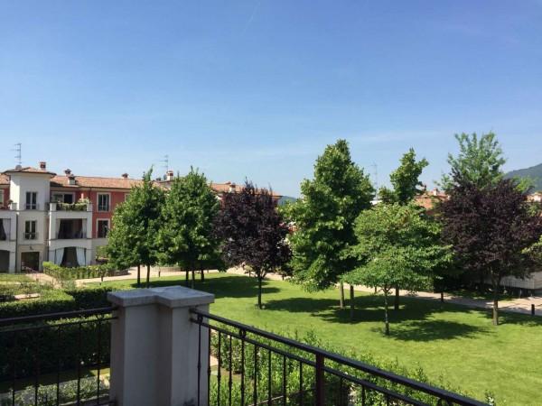 Appartamento in vendita a Concesio, S. Andrea, Con giardino, 100 mq