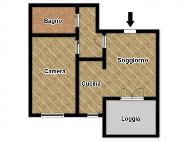 Appartamento in vendita a Brescia, Con giardino, 60 mq - Foto 3