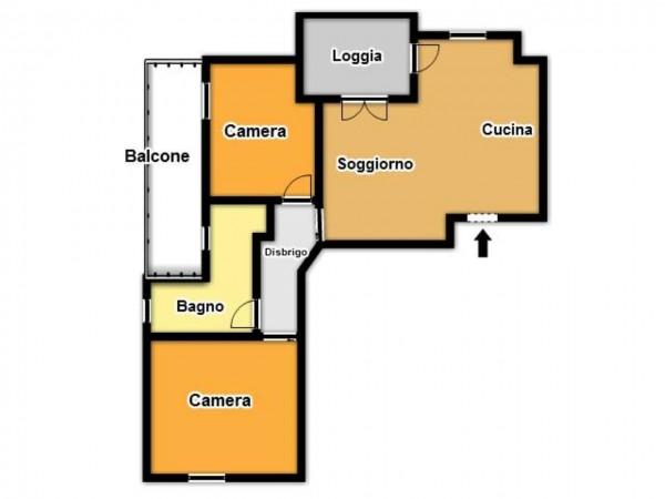 Appartamento in vendita a Brescia, Con giardino, 85 mq - Foto 3