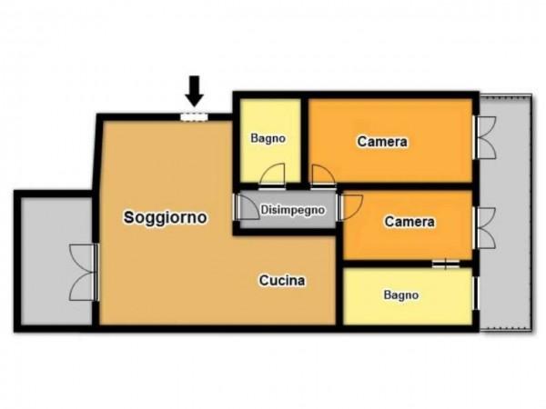 Appartamento in vendita a Brescia, 107 mq - Foto 3