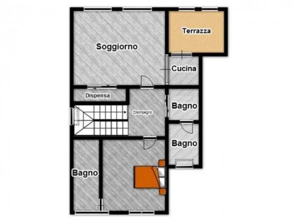 Appartamento in vendita a Brescia, Con giardino, 180 mq - Foto 3