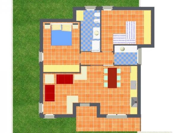 Appartamento in vendita a Travagliato, Vicino Al Centro, Con giardino, 90 mq - Foto 5
