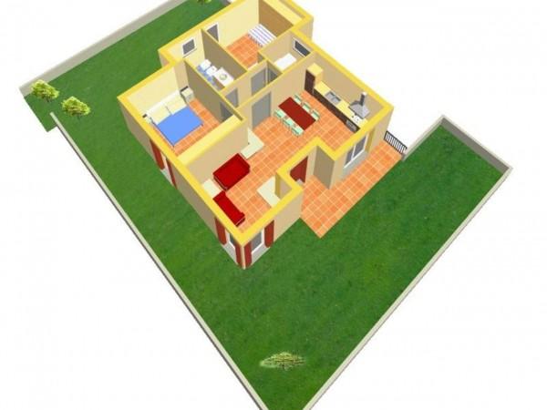 Appartamento in vendita a Travagliato, Vicino Al Centro, Con giardino, 90 mq - Foto 4