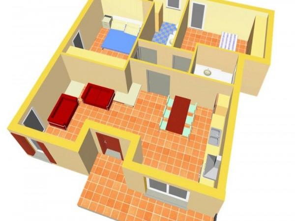 Appartamento in vendita a Travagliato, Vicino Al Centro, Con giardino, 90 mq - Foto 3