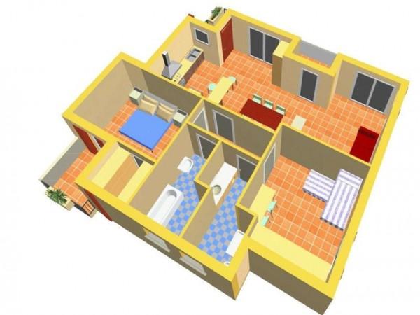 Appartamento in vendita a Travagliato, Vicino Al Centro, 90 mq - Foto 6