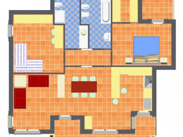 Appartamento in vendita a Travagliato, Vicino Al Centro, 90 mq - Foto 4