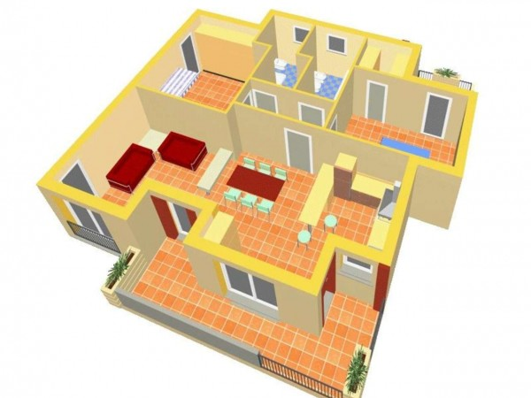 Appartamento in vendita a Travagliato, Vicino Al Centro, 90 mq - Foto 2