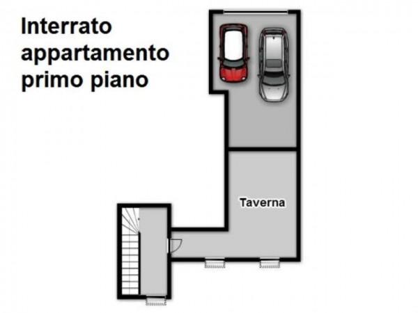 Appartamento in vendita a Travagliato, Con giardino, 190 mq - Foto 5