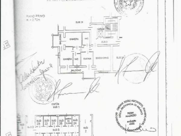 Appartamento in vendita a Peschiera Borromeo, San Bovio, Con giardino, 125 mq - Foto 3